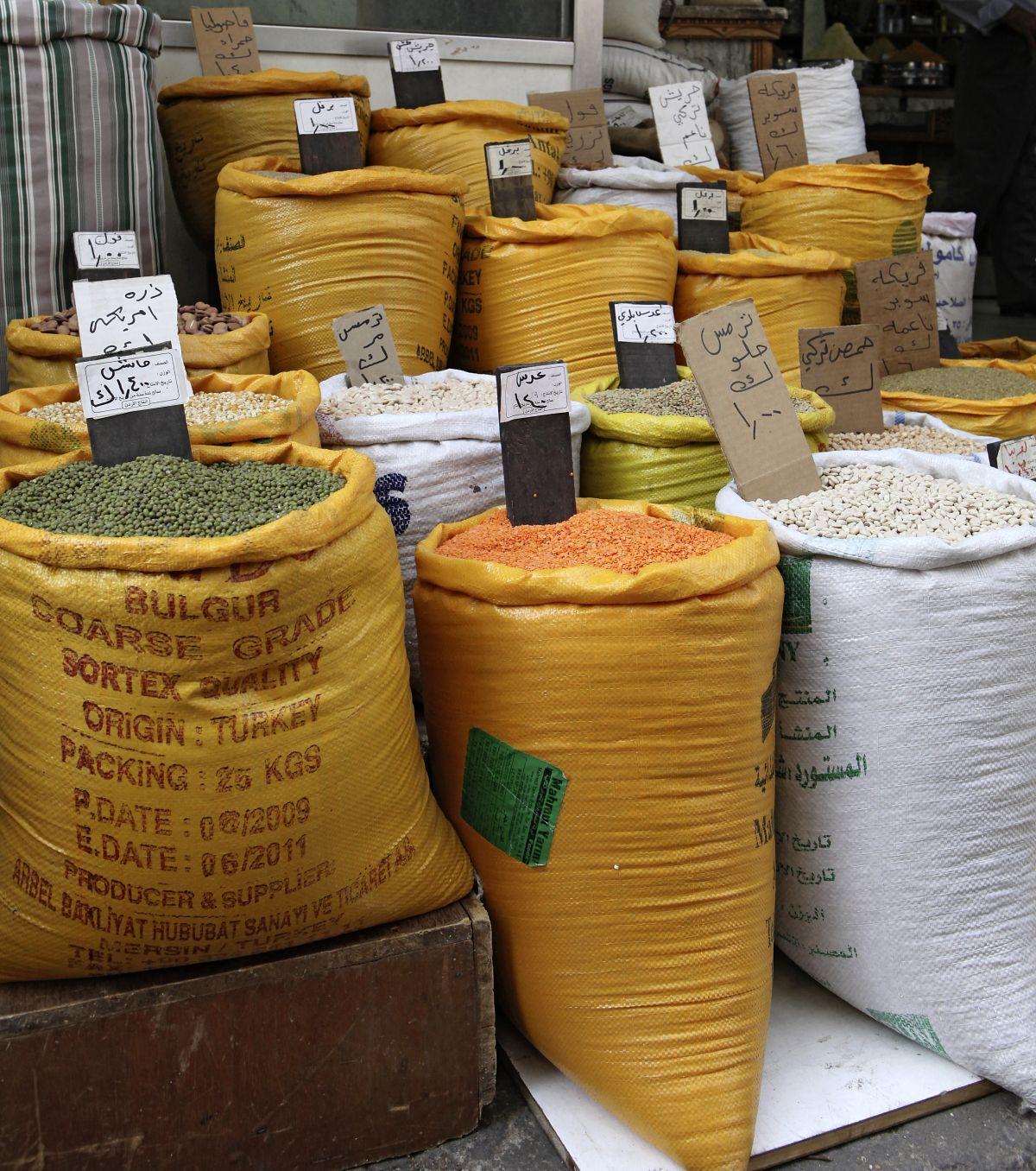Amman Gewürze (c) Marco Polo Reisen_Fotolia_Stefan Balk