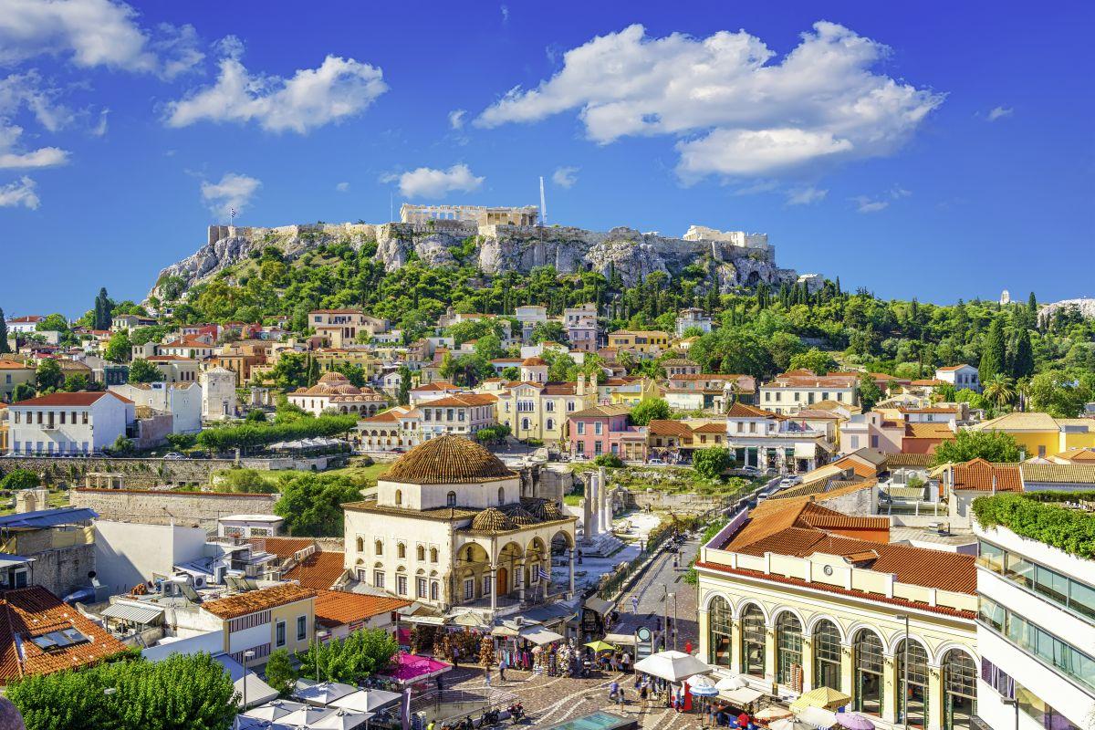 Athen, Plaka + Akropolis © Studiosus Reisen_Fotolia sborisov