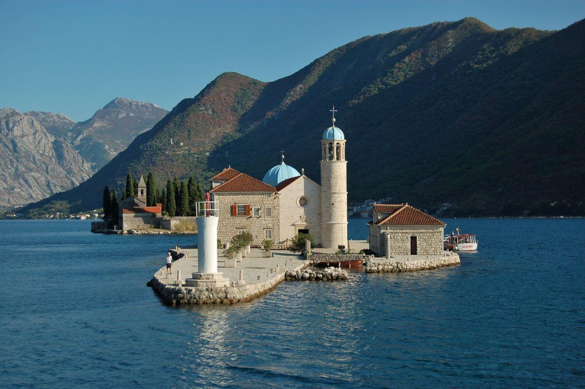 Balkan Montenegro Perast Maria Felsen (c) Pixabay