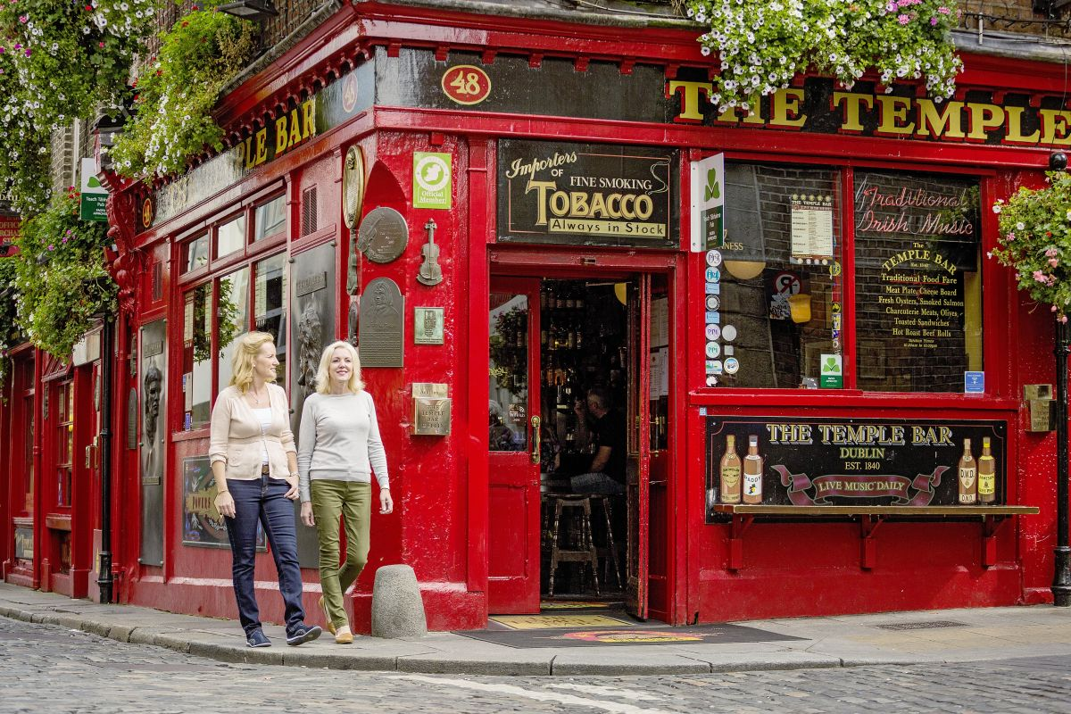 Dublin, Temple Bar © Marco Polo Reisen_Tourism Ireland
