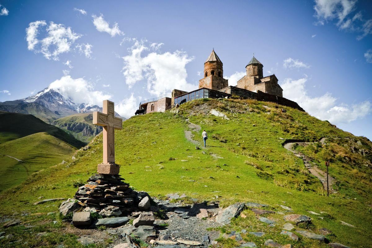 Gergeti, Kirche © Marco Polo Reisen_Fotolia_alvaso
