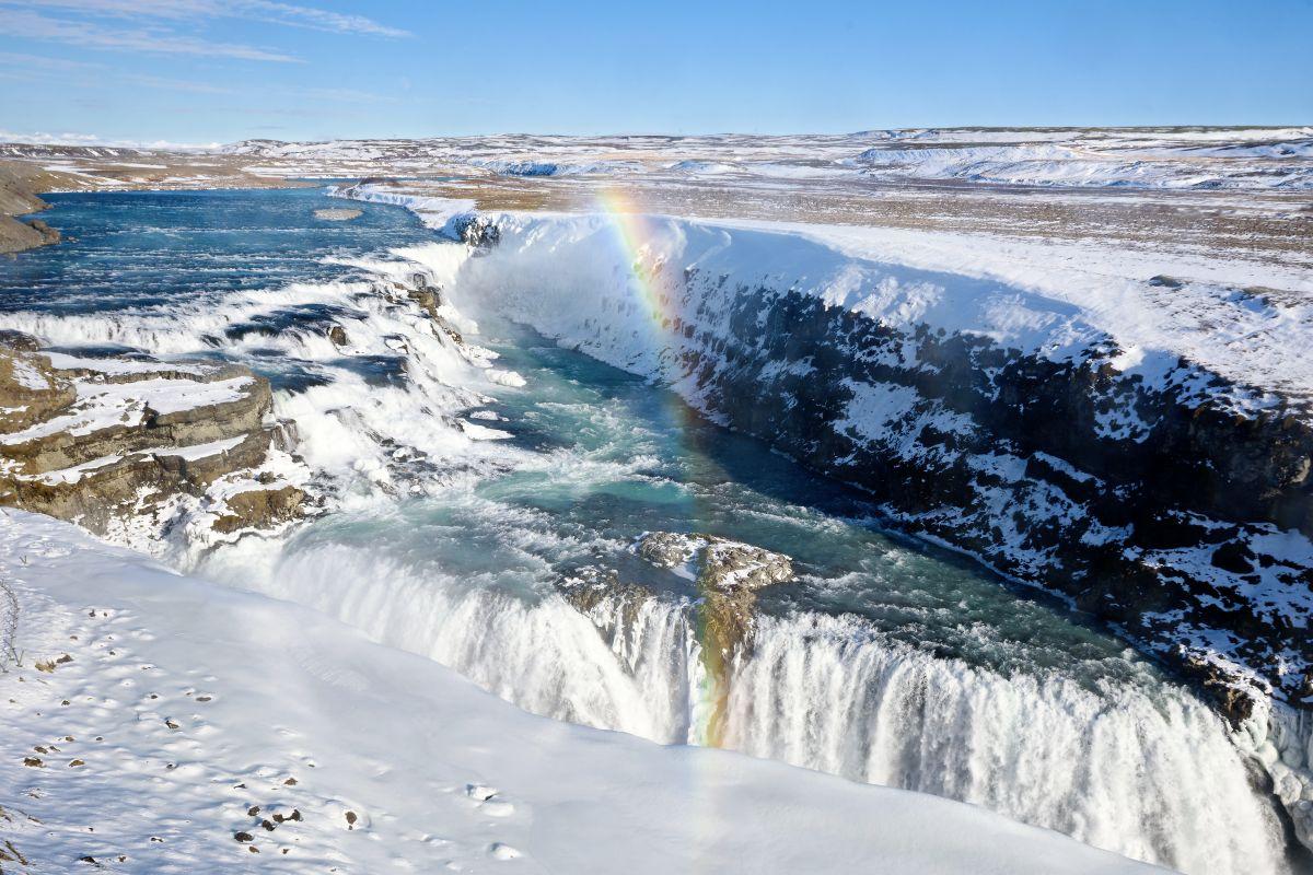 Gullfoss-Wasserfall(c)Marco Polo Reisen_Shutterstock_Dziurek