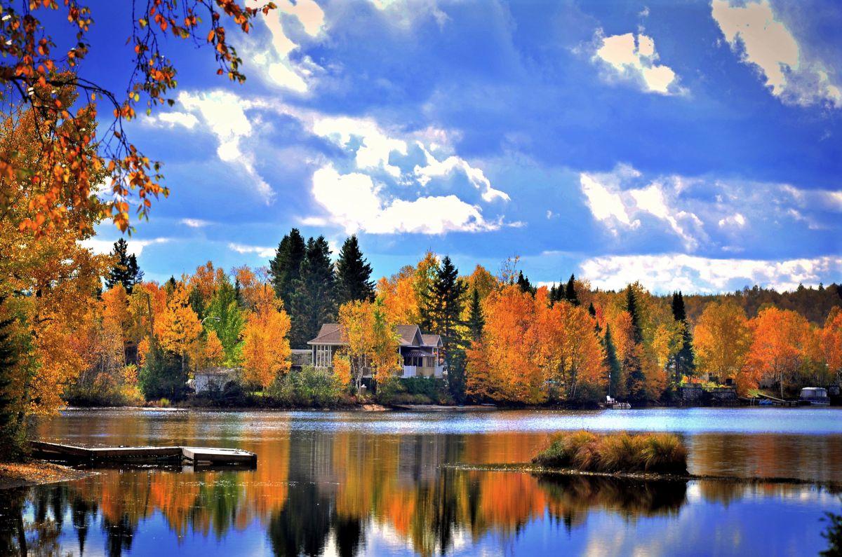 Kanada Quebec Herbst (c) Pixabay