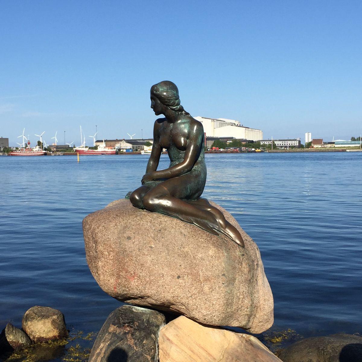 Kopenhagen Meerjungfrau (c) Pixabay