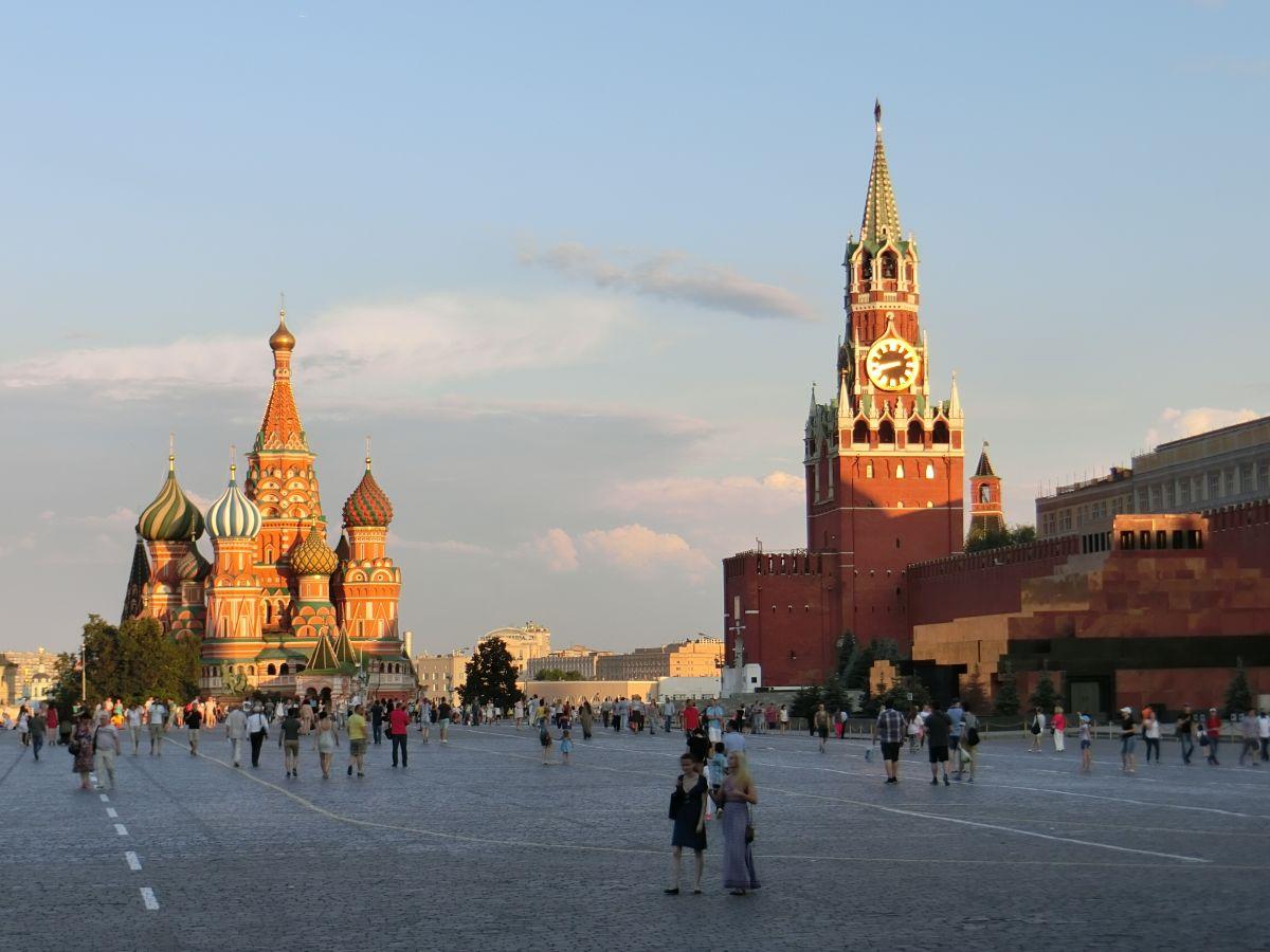 Moskau und St. Petersburg_Moskau_Roter Platz