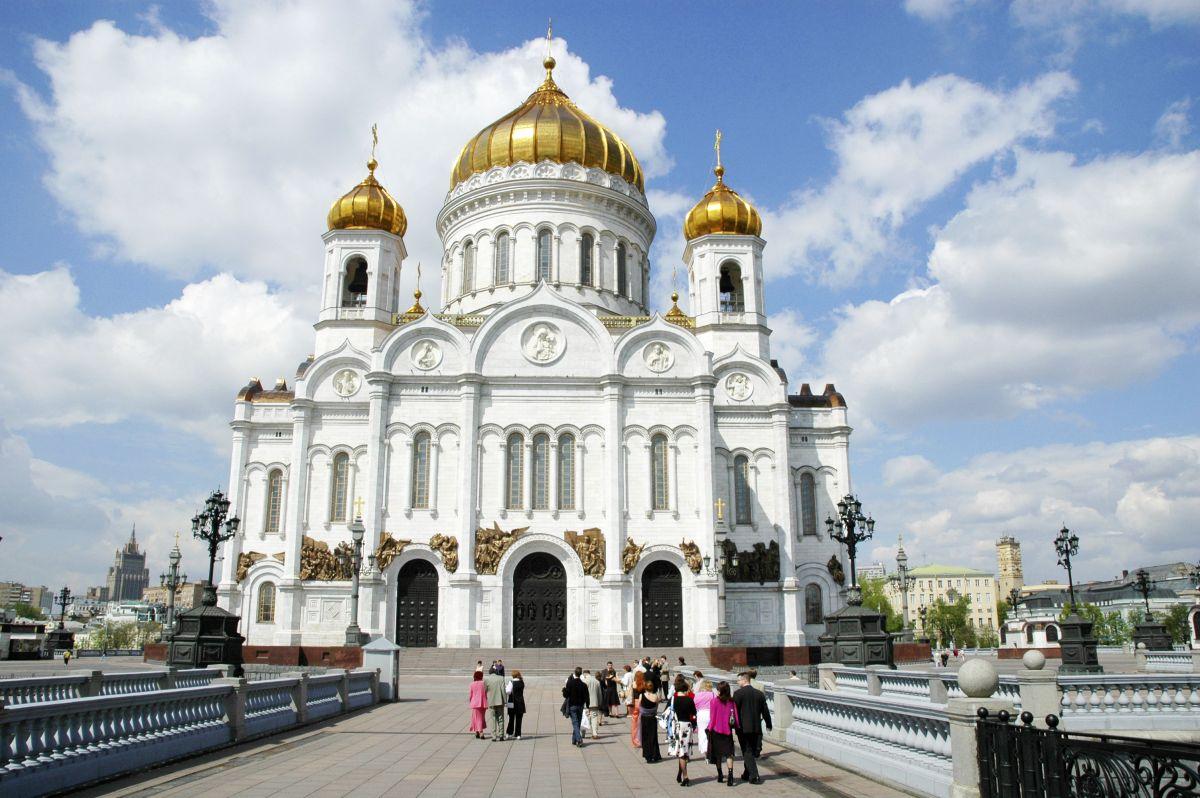 Moskau_Auferstehungskathedrale (c) Studiosus Gruppenreisen