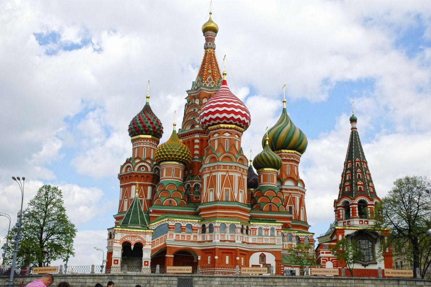 Moskau_Basilius_Kathedrale (c) Studiosus Gruppenreisen