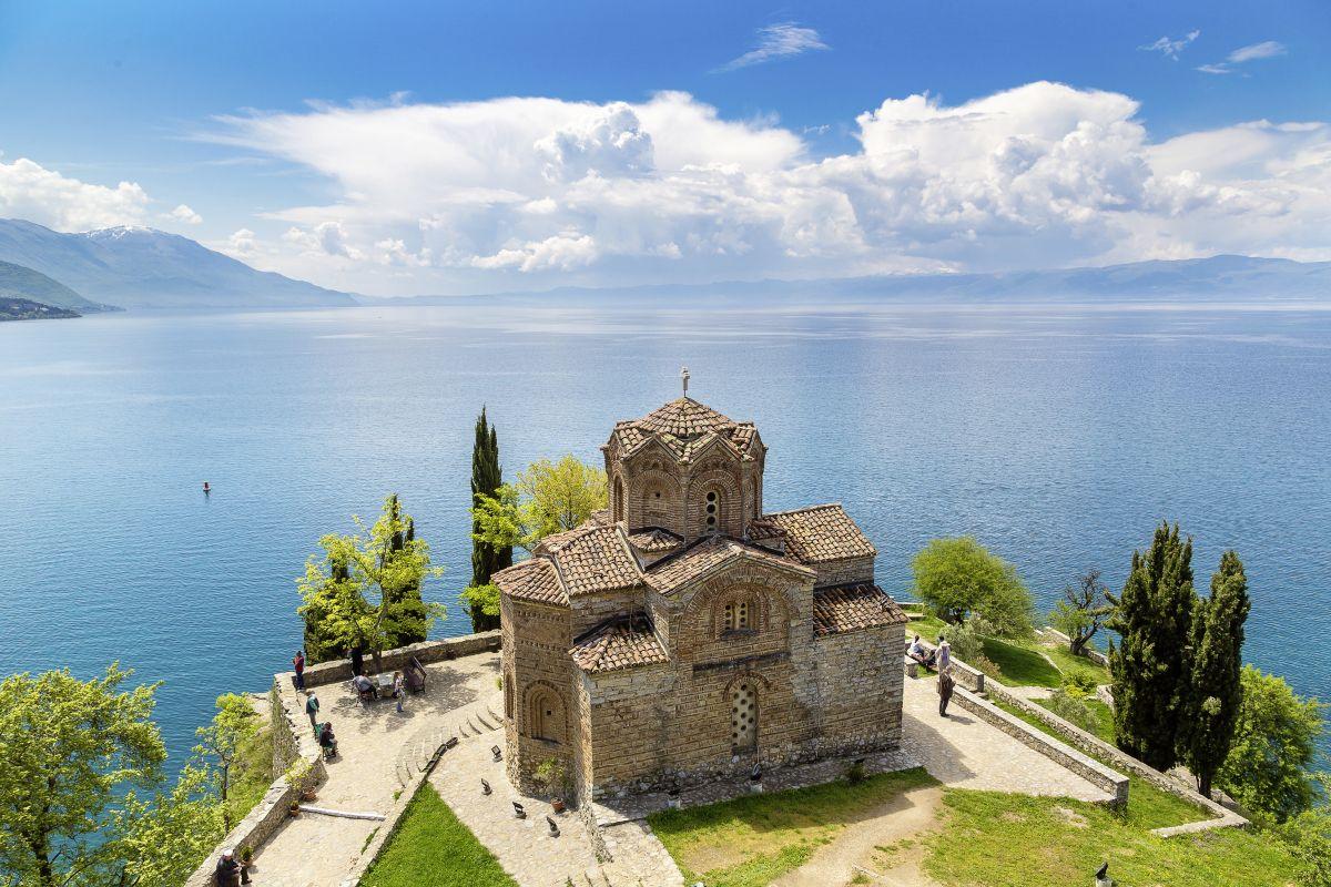 Ohrid_Kaneo Kirche (c) Marco Polo Reisen_Fotolia_Sergii Figurnyi