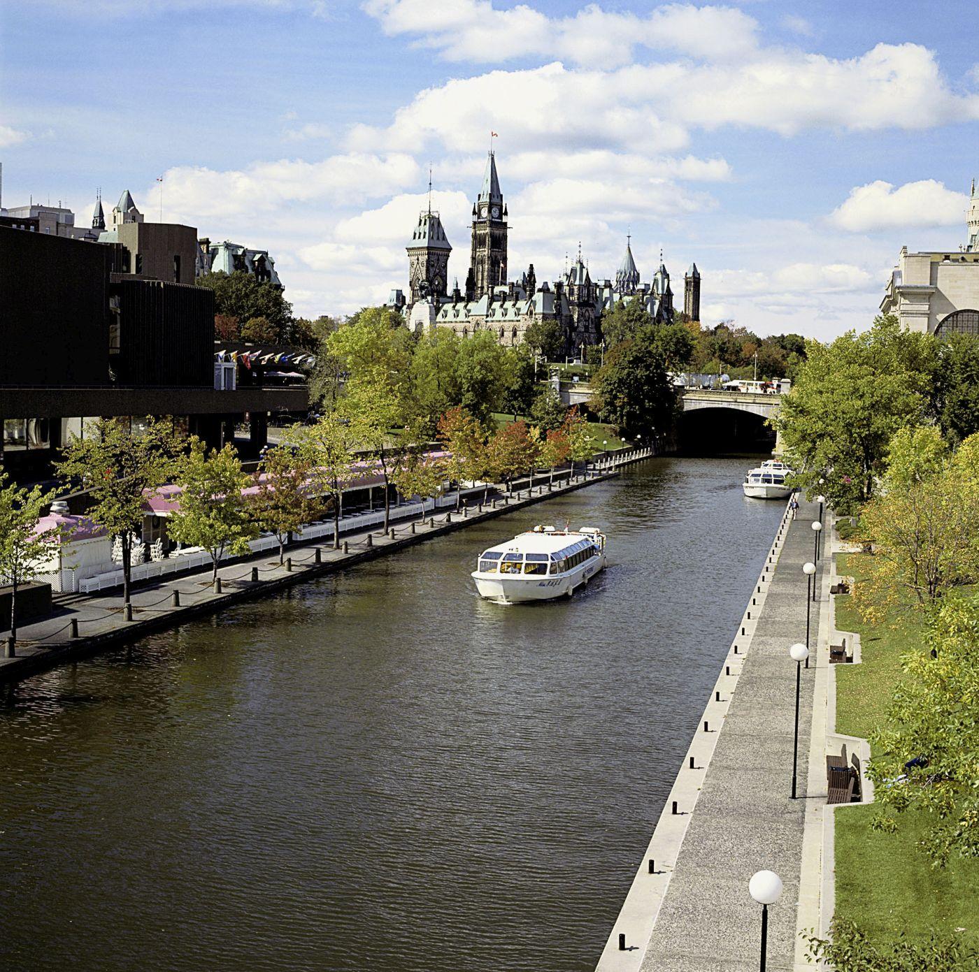 Ottawa Rideau Kanal (c) Marco Polo Reisen_Ontario Toursim