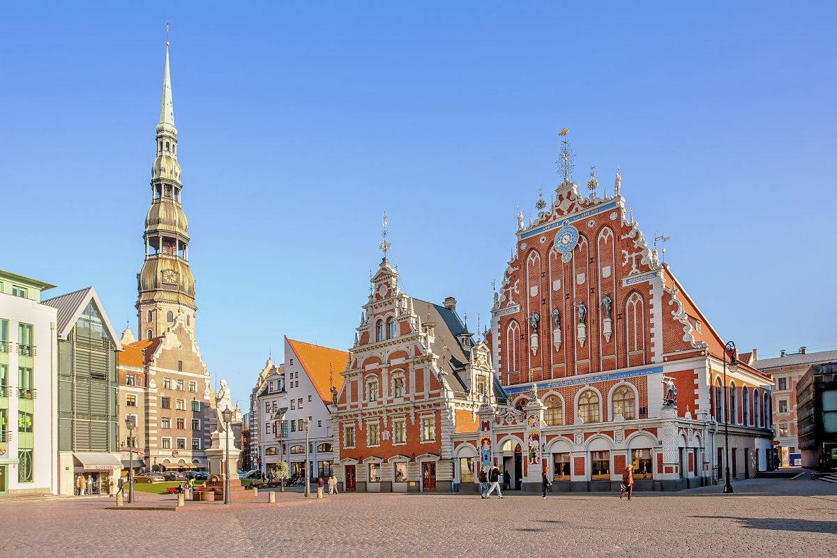 Riga, Schwarzhäupter Haus © Marco Polo Reisen_Fotolia_gadagj