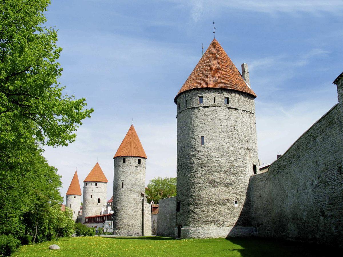 Tallin Stadtmauer(c)Marco Polo Reisen_Estonian Tourist Boarc_Jaak Nilson
