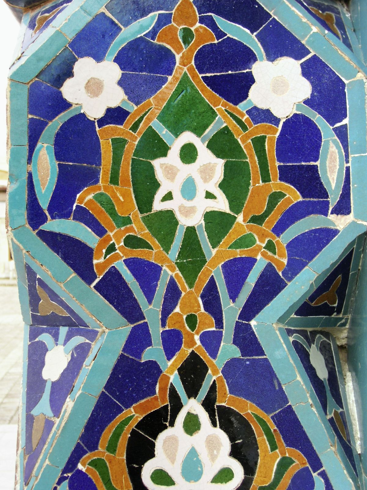 Usbekistan Typische Kacheln (c) Marco Polo Reisen