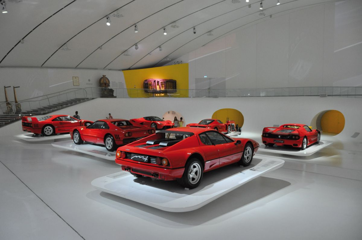 Ferrari-Museum: © Dino-Eisele