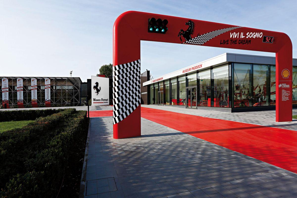 Ferrari-Museum Eingang: © Museo-Ferrari