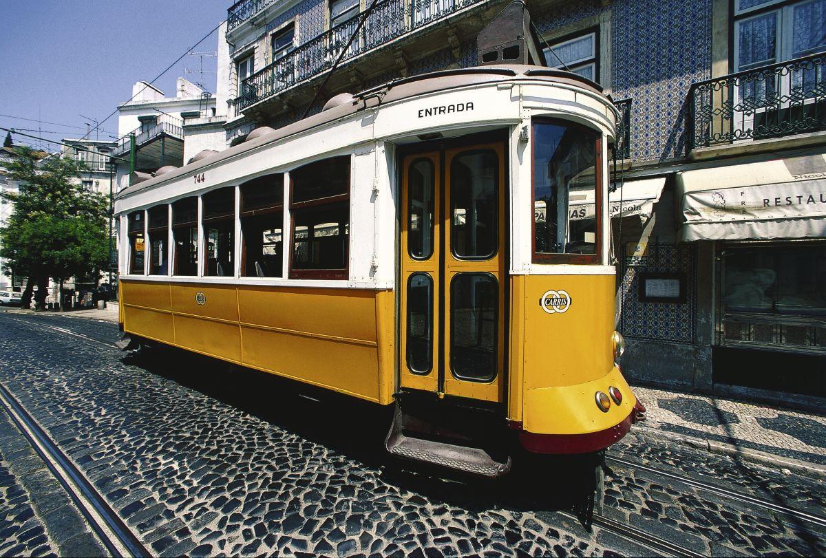 Lissabon, Straßenbahn © Marco Polo Reisen_Turismo de Portugal_Jose Manuel