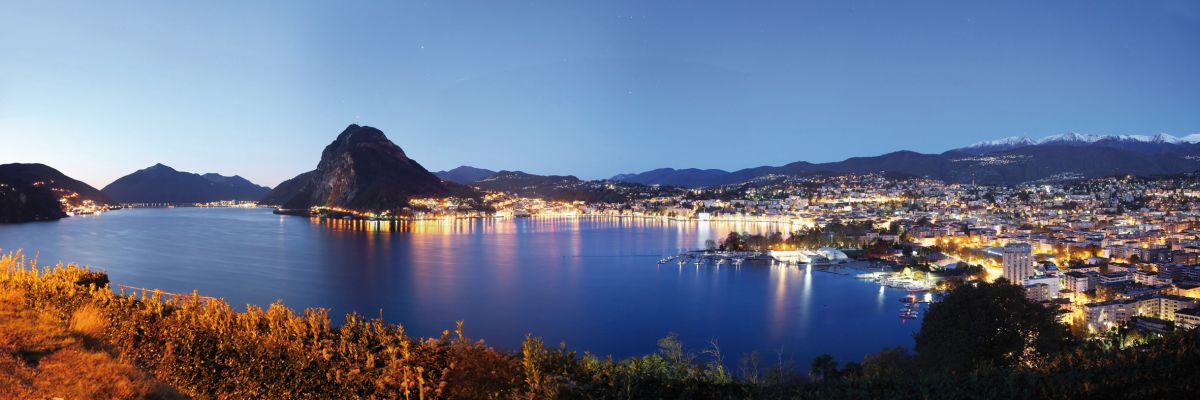 Ticino: Luganersee und San Salvatore © swiss-image.ch