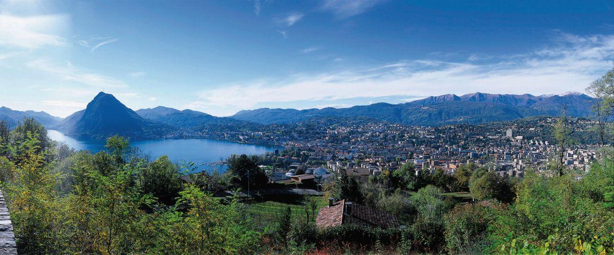 Das Tessin: Lugano © swiss-image.ch