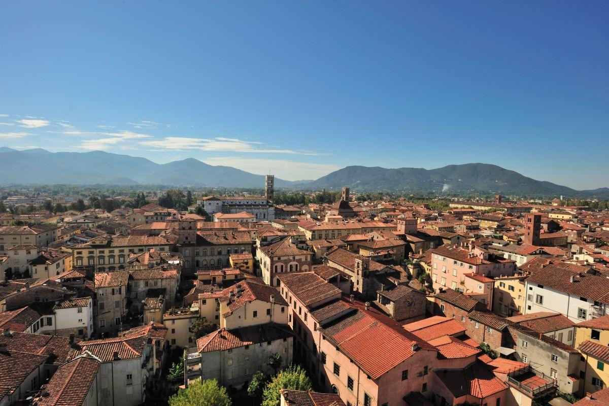 Panorama e Duomo © Fototeca ENIT Gino Cianci