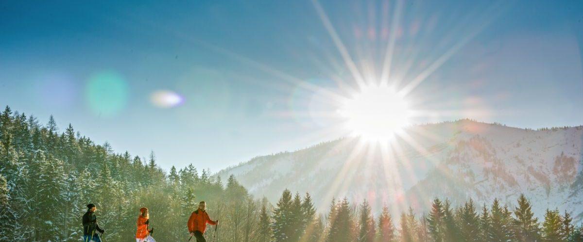 Schneeschuh ©Fuschlseeregion-Erber