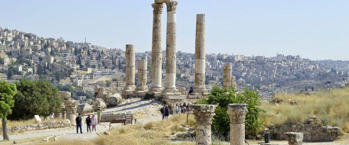 Amman, Zitadelle (c) Marco Polo Reisen
