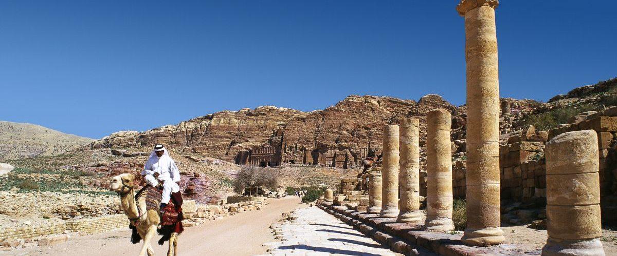Petra, Säulenstraße© Marco Polo ReisenVisit Jordan