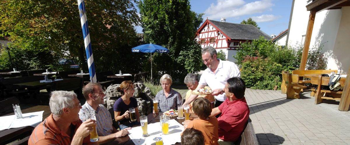 Biergarten © Hotel Gasthof zum Hirschen