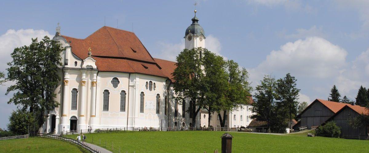 Koenig-Ludwig_Weg_Wieskirche_1 © eurohike