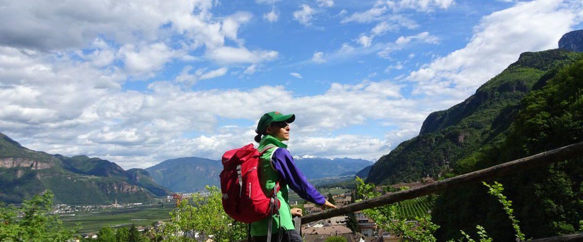 eurohike-garmisch-meran-vinschgau_panoramablick_wanderer-1 © eurohike