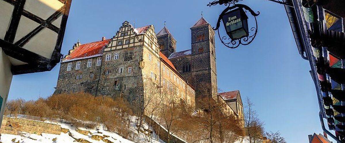 Quendlinburger Schloss (C) QTM GmbH - Jürgen Meusel
