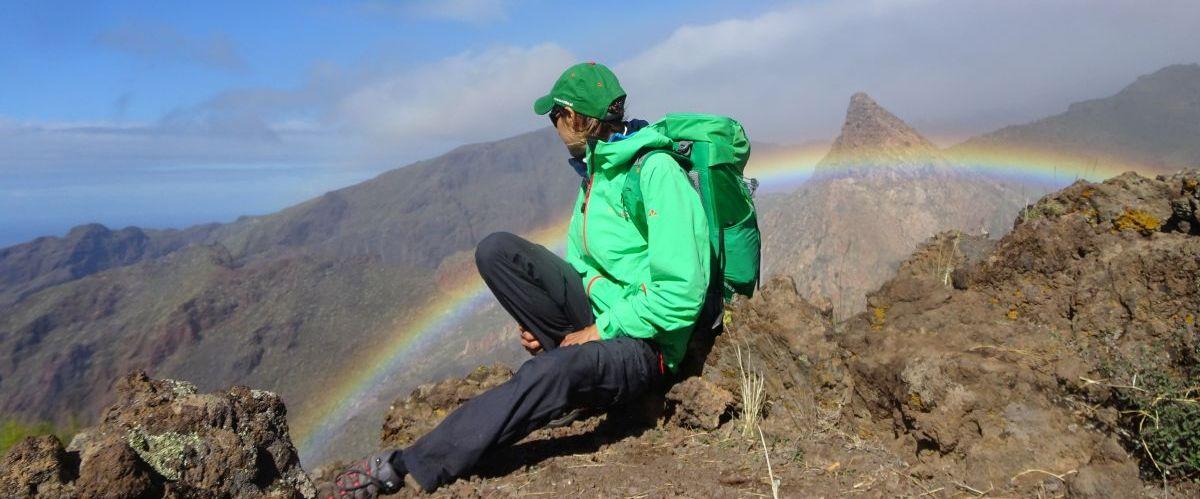 Teneriffa-Regenbogen-Wanderer (c) eurohike