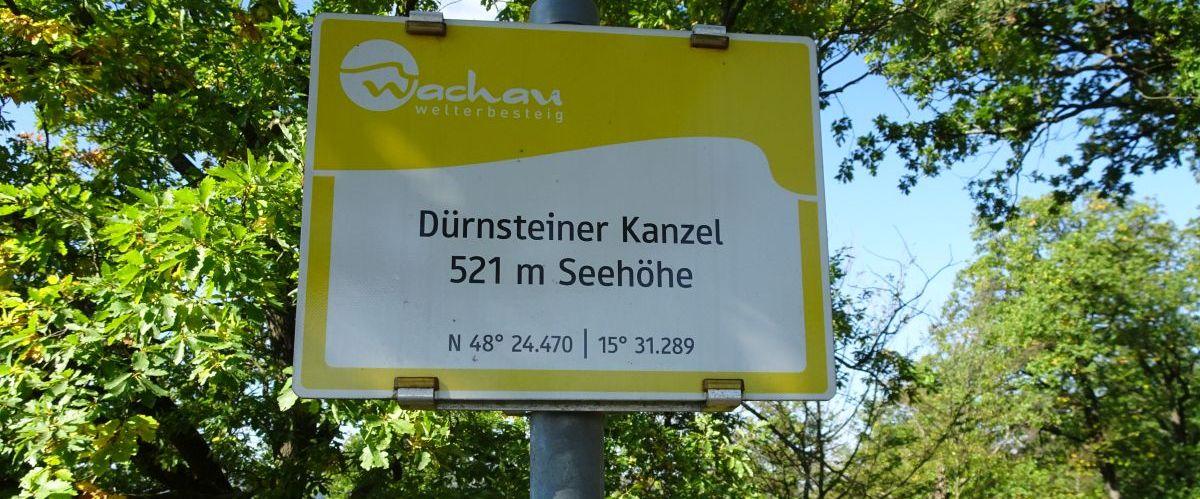 Wachau-Wanderwegschild (c) eurohike