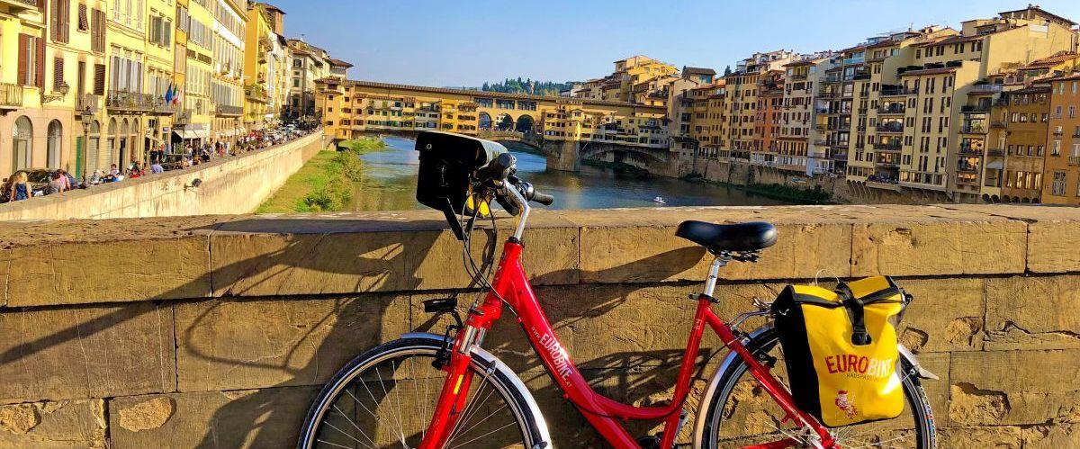 eurobike-radreise-toskana-florenz-ponte-vecchio-fahrrad(c)eurobike