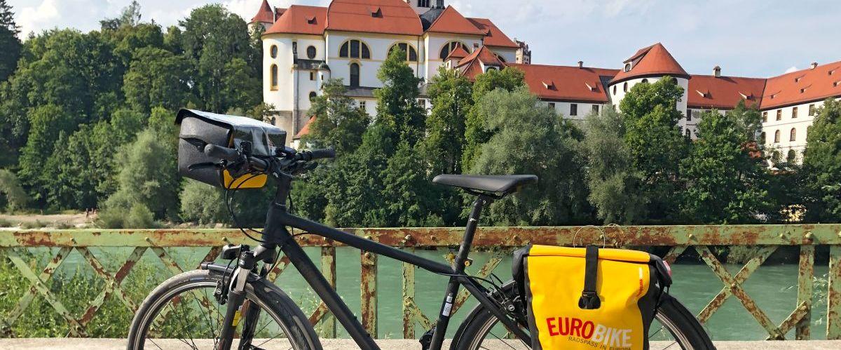 eurobike-radreisen-fuessen-hohes-schloss-fahrrad