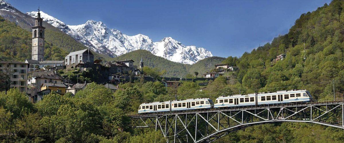 Intragna con neve(c)AKE-Eisenbahntouristik