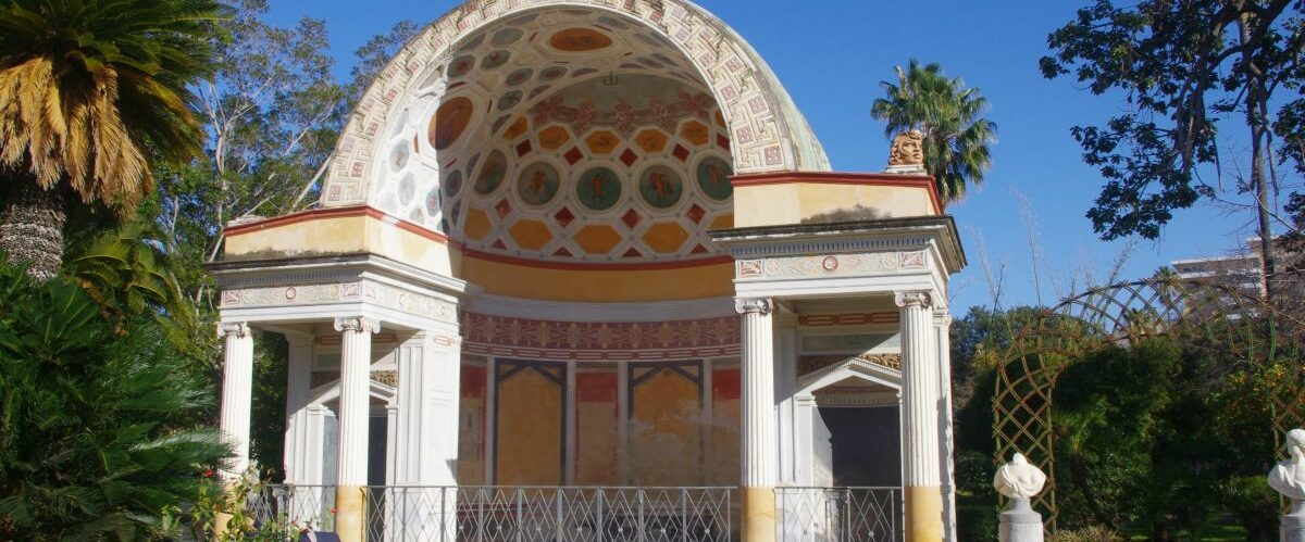 Sizilien_Palermo, Villa Giulia, Konzertmuschel (c) Dr. Susanne Grötz