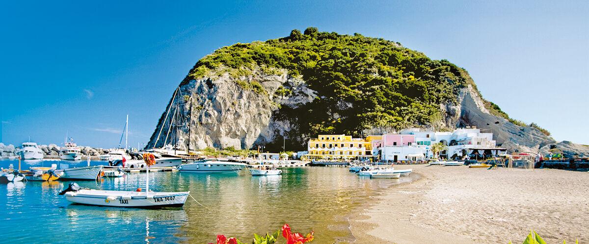 Ischia, Sant Angelo Beach, Italy
